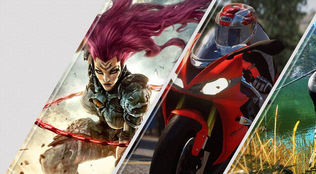 Les nouveautés de la semaine sur PlayStation Store : Darksiders III, RIDE 3, Pro Fishing Simulator, et plus encore