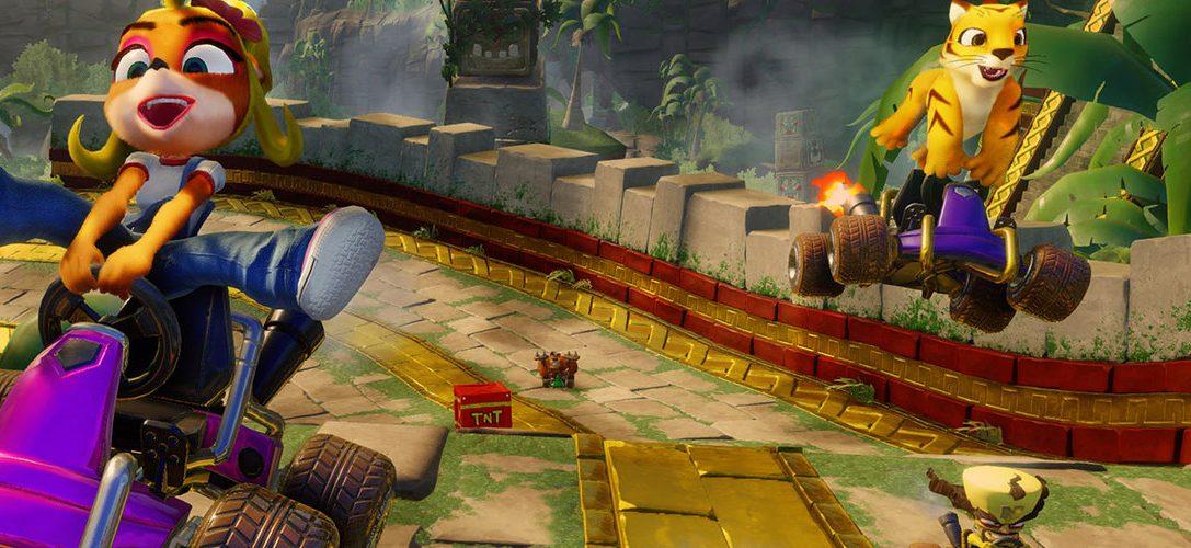 Crash Team Racing Nitro-Fueled déboule sur PS4 le 21 juin !
