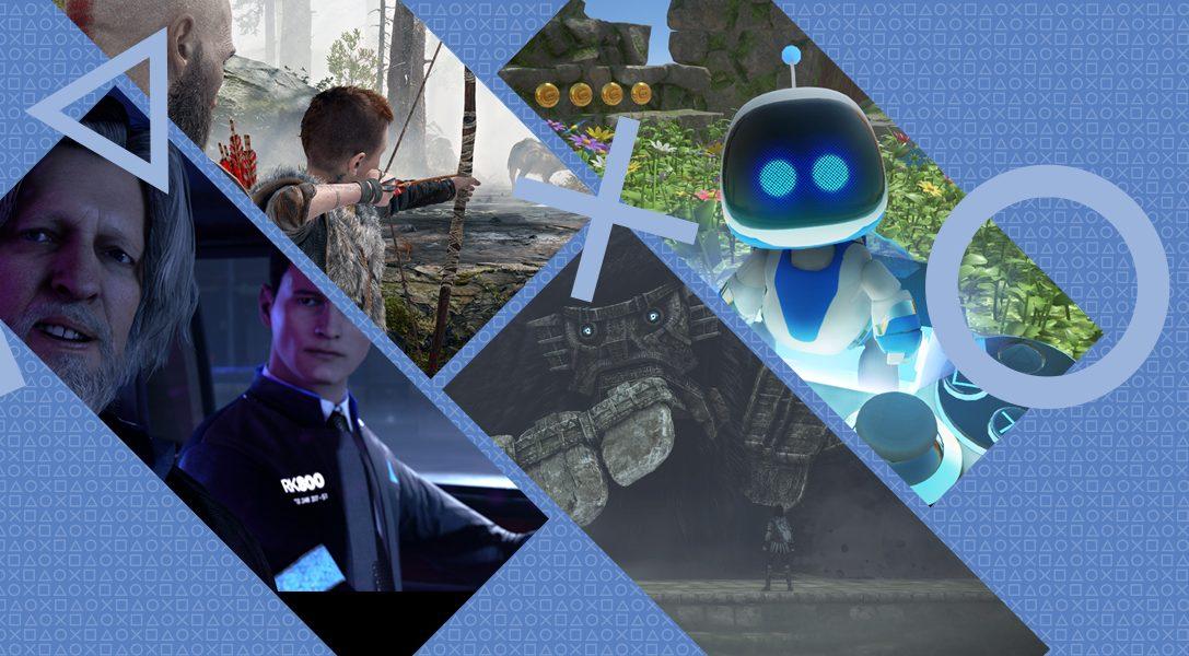 18 développeurs PlayStation choisissent leur meilleur moment de jeu sur PS4 en 2018