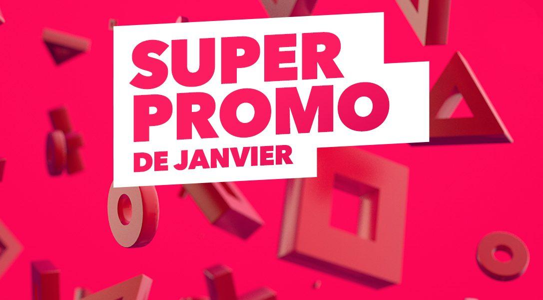 La Super Promo de janvier du PlayStation Store commence dès aujourd'hui