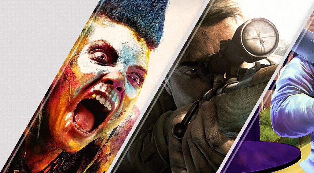 Les nouveautés de la semaine sur le PlayStation Store: Rage2, Sniper Elite V2 Remastered, A Plague Tale: Innocence, et bien plus