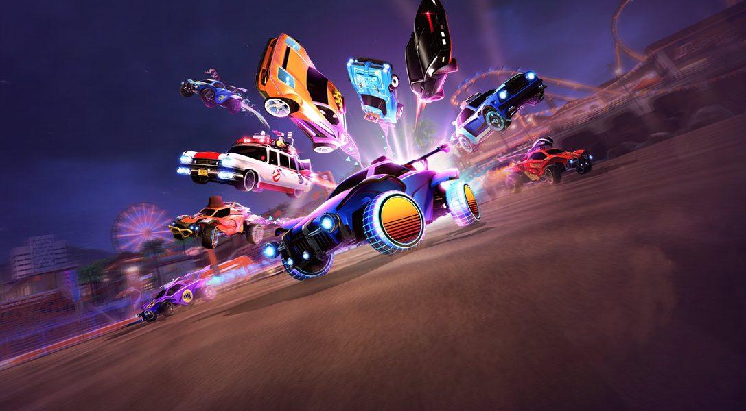 Rocket League remonte le temps avec l'événement Radical Summer qui commencera la semaine prochaine