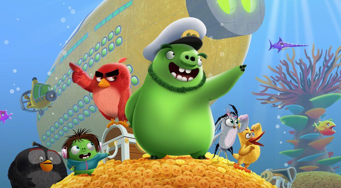 Voici pourquoi The Angry Birds Movie2VR: Under Pressure est une expérience PSVR en multijoueur local