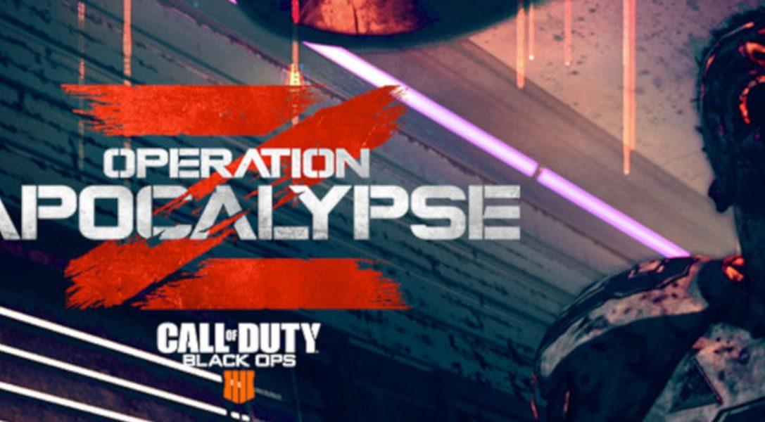 Operation Apocalypse Z débarque aujourd'hui sur PS4 dans Call of Duty: Black Ops 4