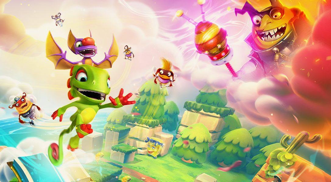 Le très coloré jeu de plate-forme Yooka-Laylee and the Impossible Lair a une date de sortie annoncée pour la PS4