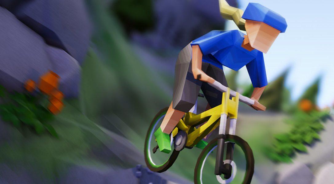 Partez à la conquête de difficiles pistes de VTT dans le jeu de course arcade Lonely Mountains: Downhill, ce mois-ci sur PS4