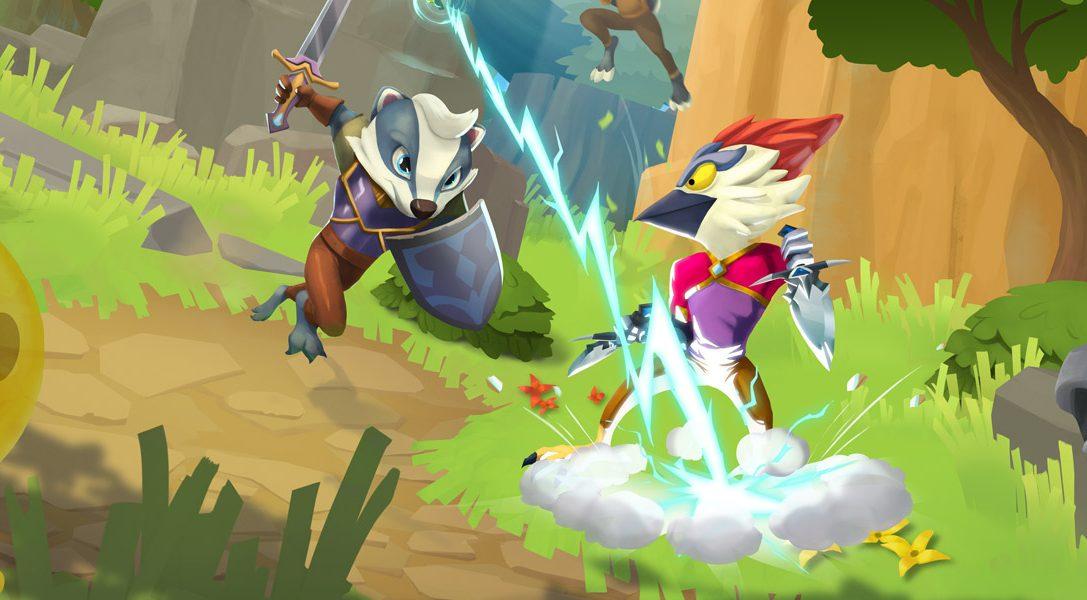 La mise à jour d'aujourd'hui de ReadySet Heroes ajoute le cross-play et de nouvelles zones de combat au jeu de combat multi-joueur