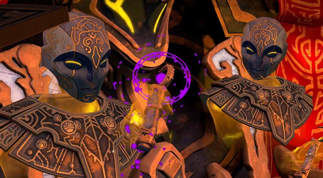 Faites le tour de Stardust Odyssey avant de vous lancer dans l'aventure de science-fantasy inspirée de Mœbius, sur PS VR dès aujourd'hui