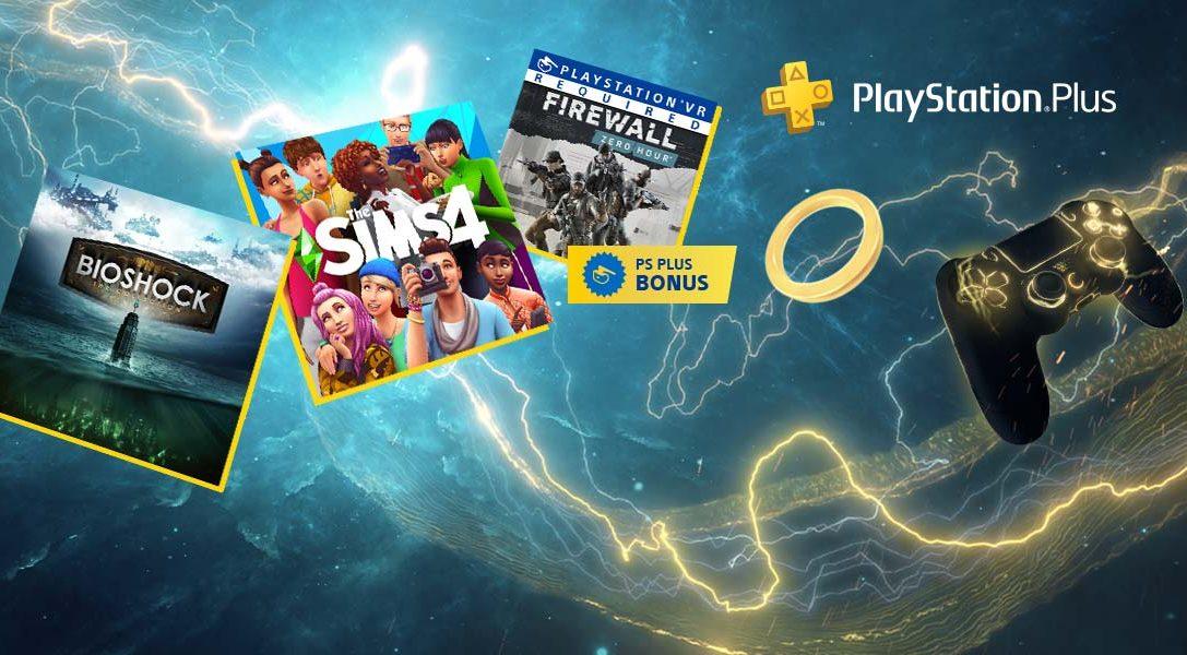 Les jeux PS Plus gratuits du mois de février : Bioshock: The Collection, Les Sims 4 et Firewall Zero Hour