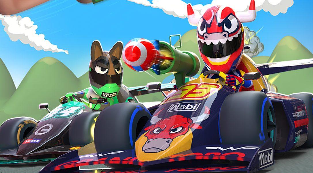 Les cinq raisons qui montrent que Touring Karts, le jeu de course d'arcade compatible PS VR, a été conçu pour tourner de manière optimale sur PS4