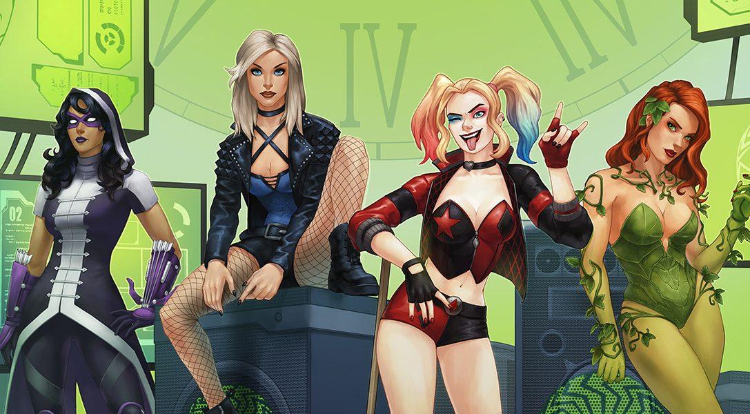 Les Birds of Prey s'envoleront en avril pour rejoindre DC Universe Online