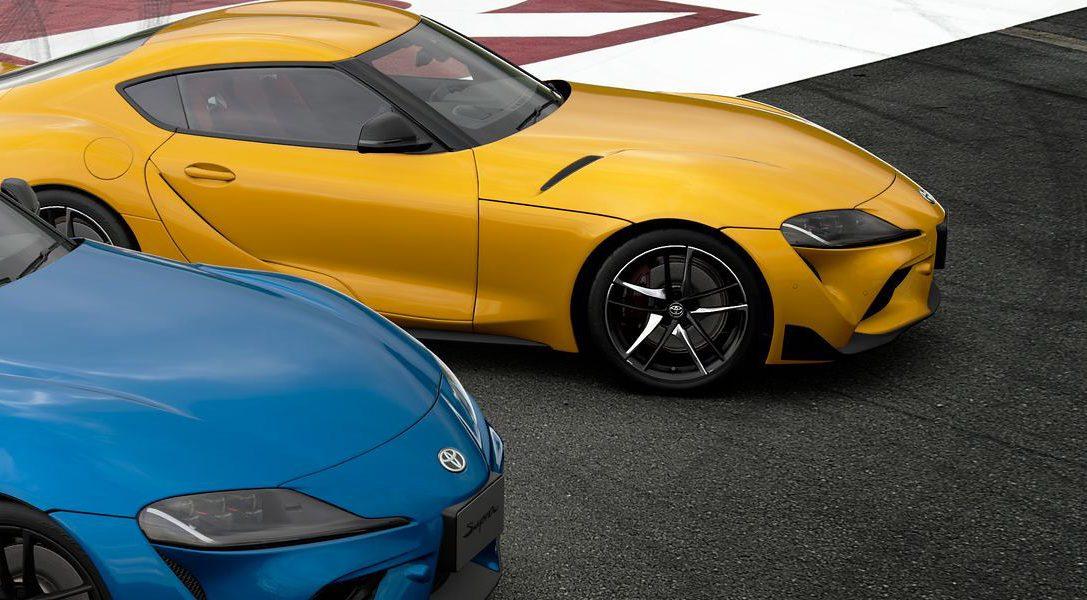 Gran Turismo Sport ajoute la Toyota GR Supra RZ 2020 (N300)
