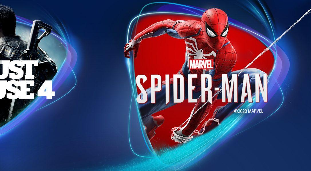 Marvel's Spider-Man, Just Cause 4 et The Golf Club 2019 débarquent sur PS Now en avril