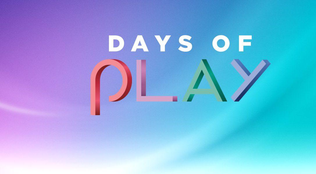 Days of Play 2020 : des offres incroyables sur plusieurs jeux et bien plus