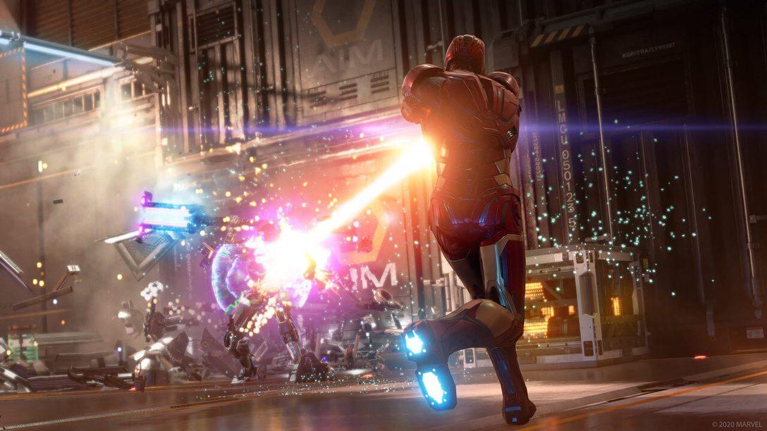 Une version améliorée de Marvel's Avengers sera disponible sur PS5