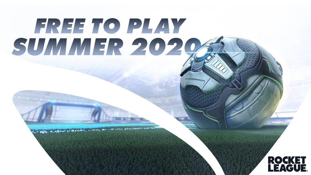 Rocket League disponible en free-to-play dès cet été