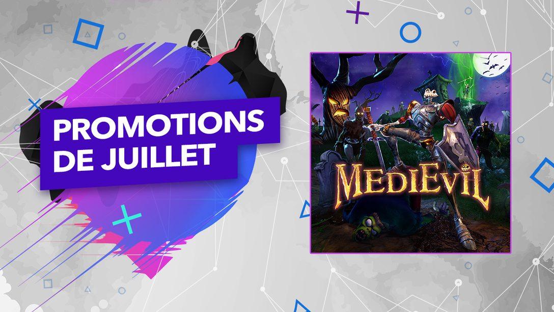 Les promotions du mois de juillet sont maintenant disponibles sur le PlayStation Store