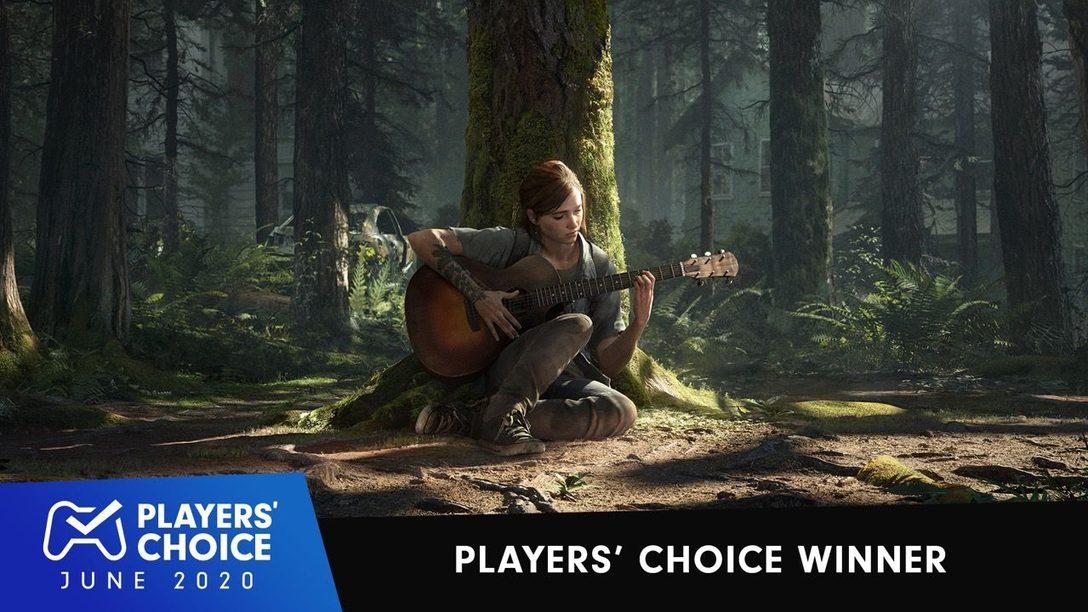 Choix des joueurs : The Last of Us Part II a été élu meilleur jeu du mois de juin 2020