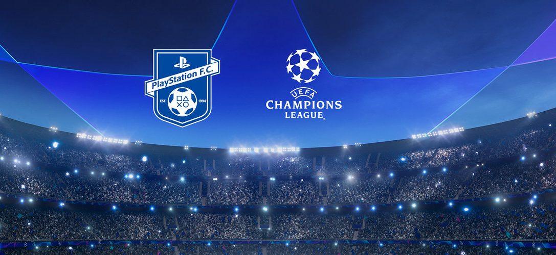 Выиграйте билеты на финал Лиги чемпионов УЕФА с футбольным клубом PlayStation
