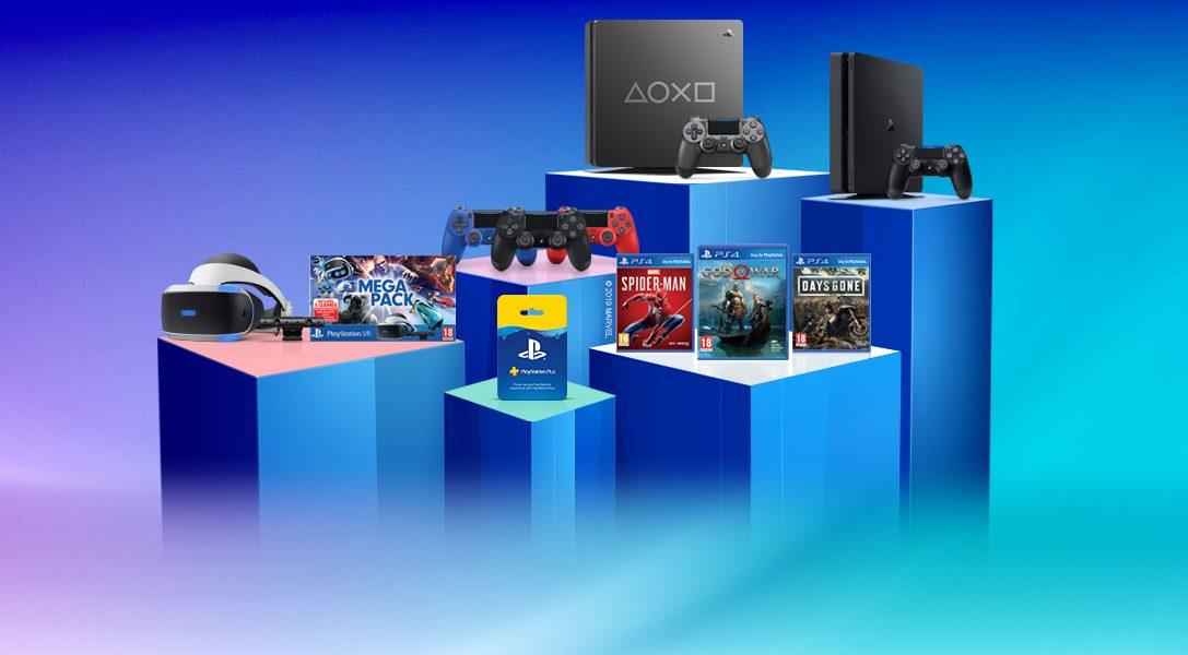 «Время играть» — 11 дней невероятных предложений и новое ограниченное издание PS4