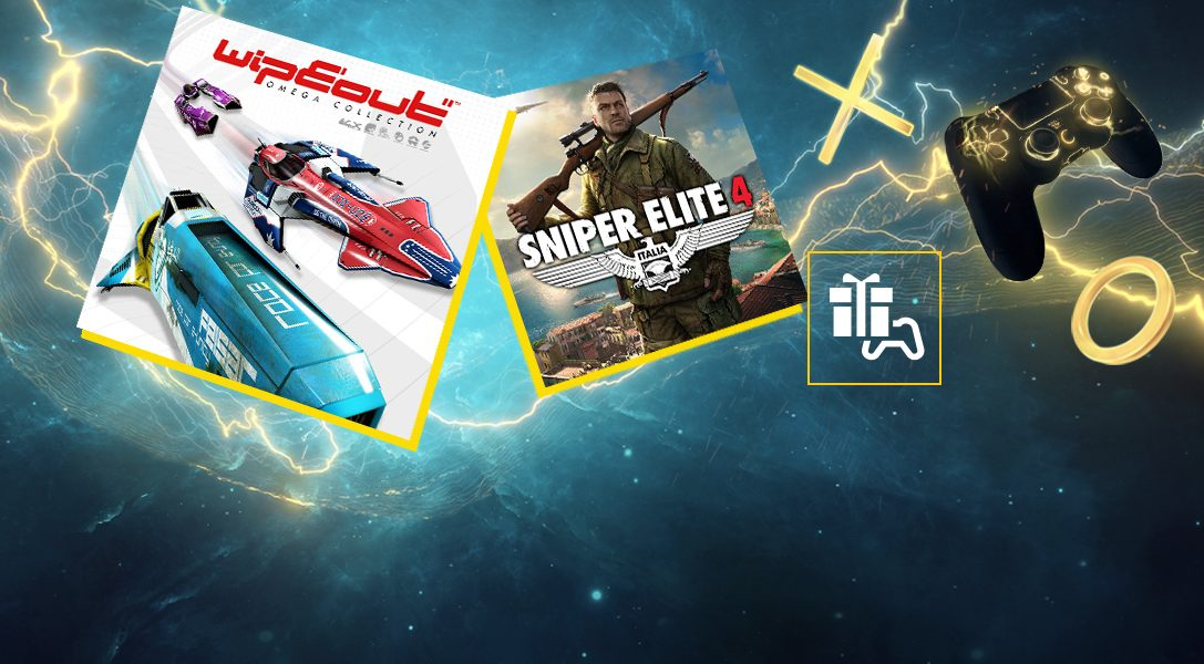 Август в PlayStation Plus: WipEout Omega Collection и Sniper Elite 4