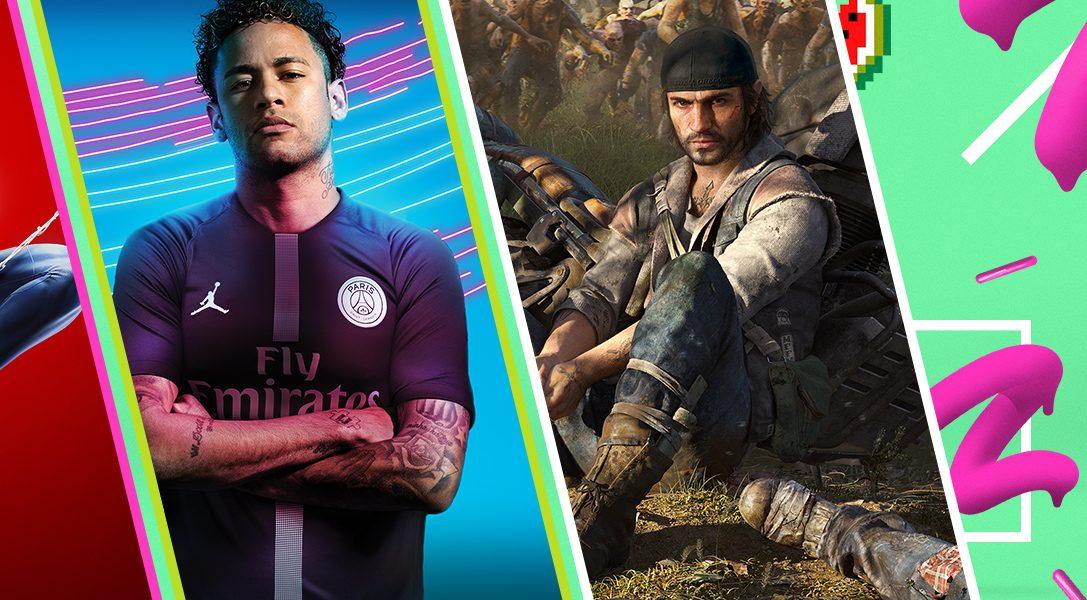 Новые игры на грандиозной Летней распродаже в PlayStation Store