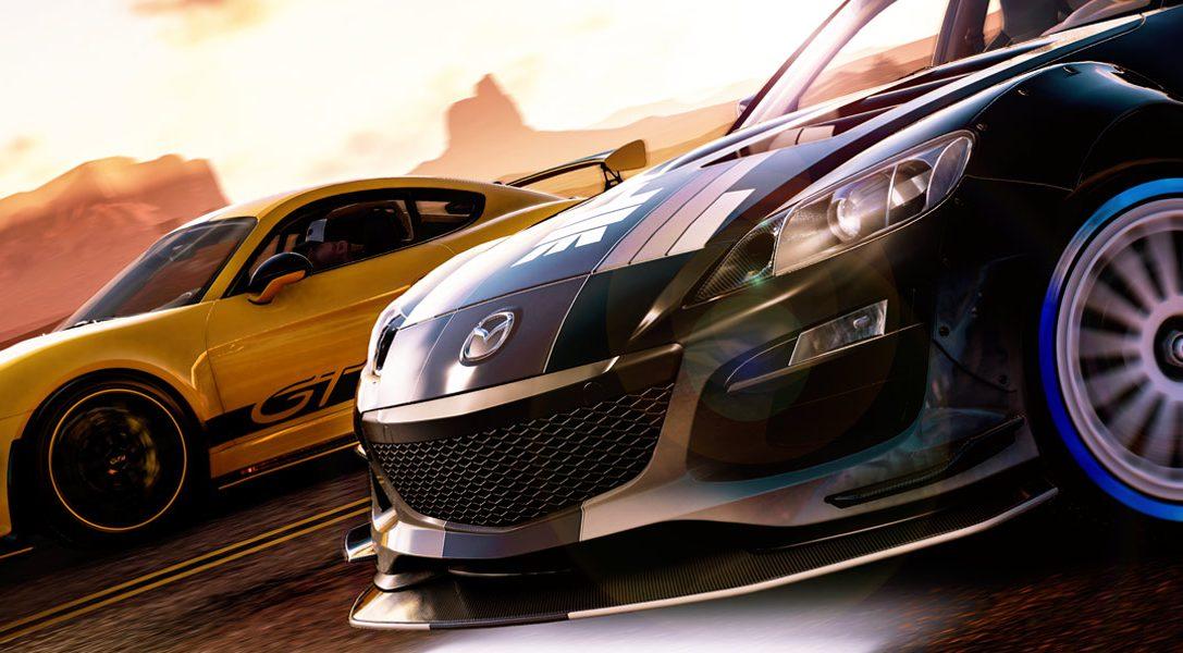 На выходных играйте бесплатно в The Crew 2 с обновлением Blazing Shots на PS4