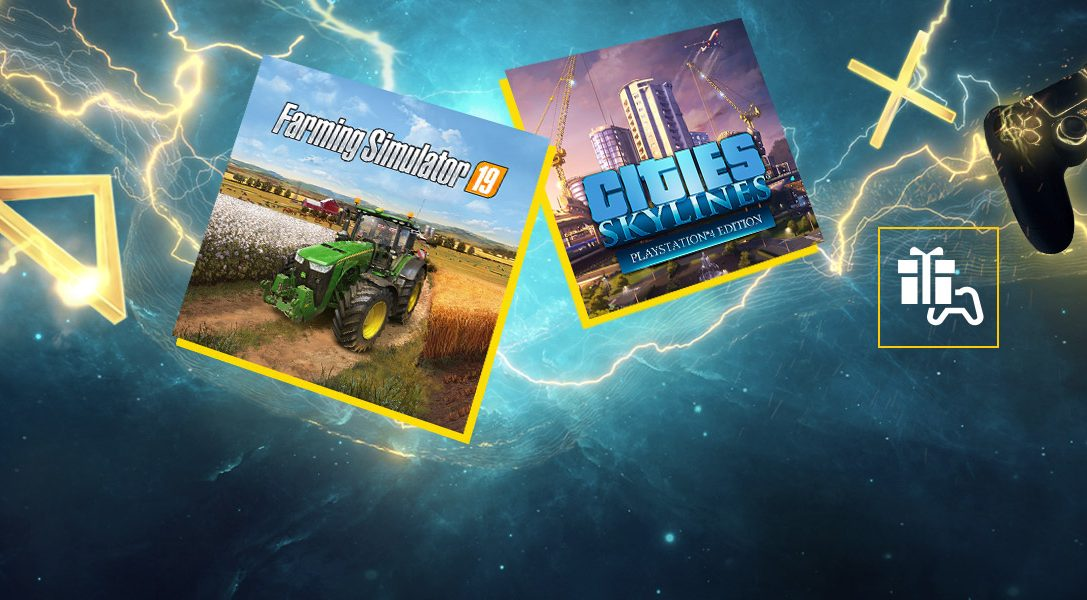 Май в PlayStation Plus: Farming Simulator 19 и Cities: Skylines