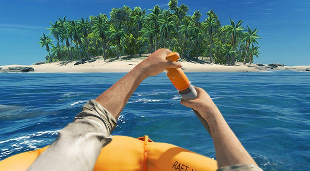 Стройте, выживайте и ищите путь к спасению в игре Stranded Deep — уже завтра на PS4