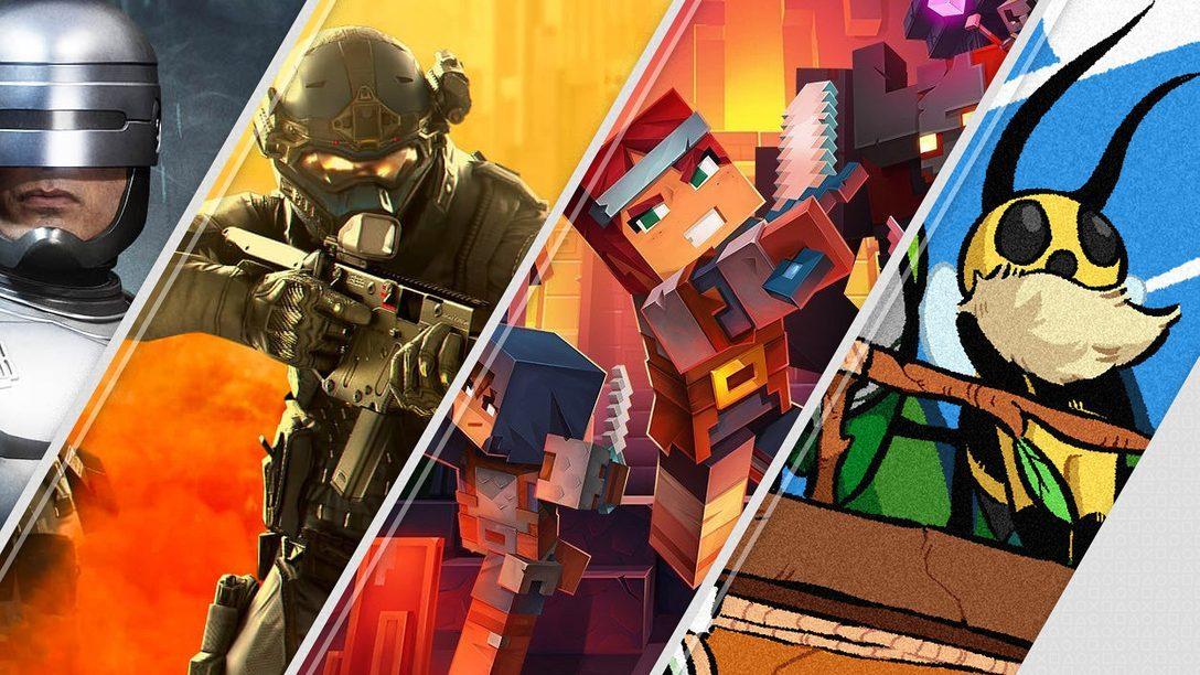 Mortal Kombat 11 Aftermath и Minecraft Dungeons – главные новинки недели в PlayStation Store