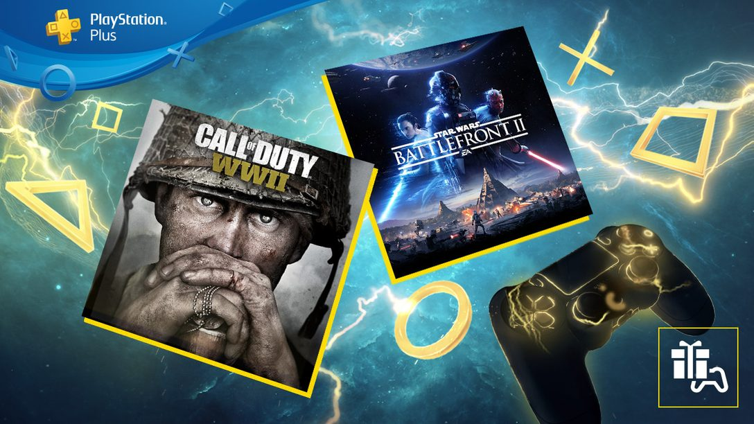 Июнь в PlayStation Plus: Star Wars Battlefront II и Call of Duty: WWII