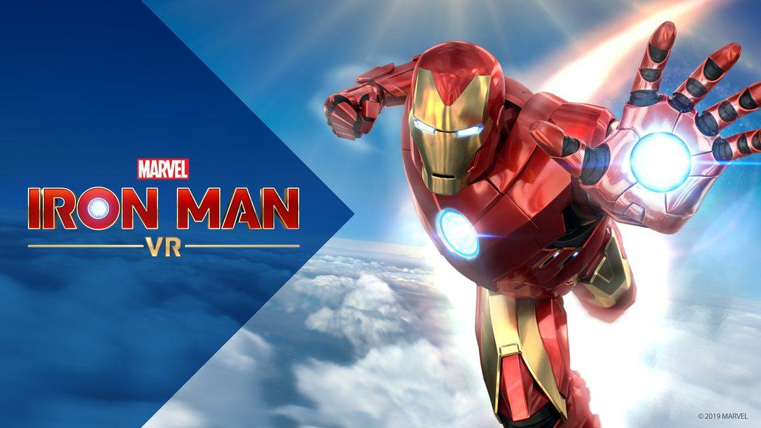 Знакомство с глубокой боевой системой и огромным миром игры Marvel's Iron Man VR