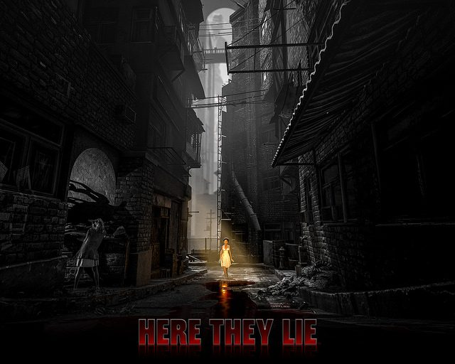 Here They Lie, un horror game surreale per PS VR & PS4