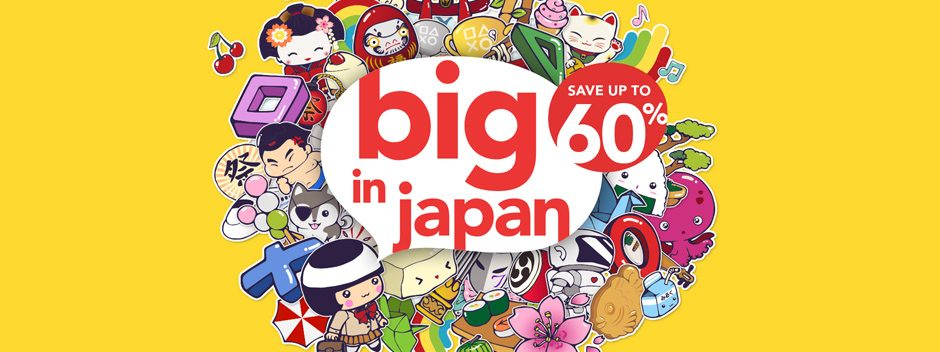 """Gli sconti """"Big in Japan"""" del PlayStation Store iniziano oggi"""