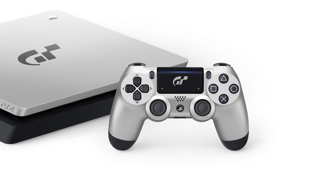 Scopri la console PlayStation 4 in edizione limitata di Gran Turismo Sport®