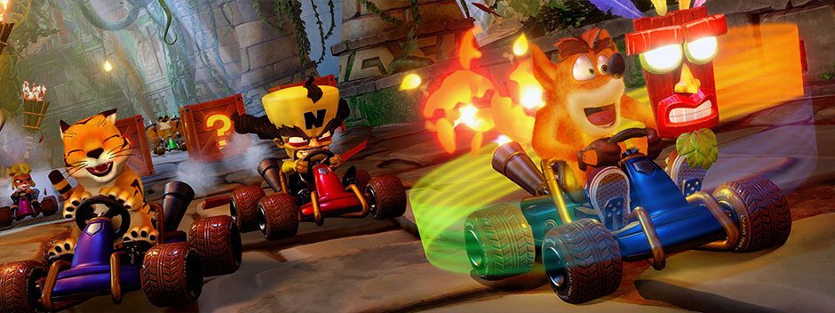 Al volante di Crash Team Racing: Nitro-Fueled