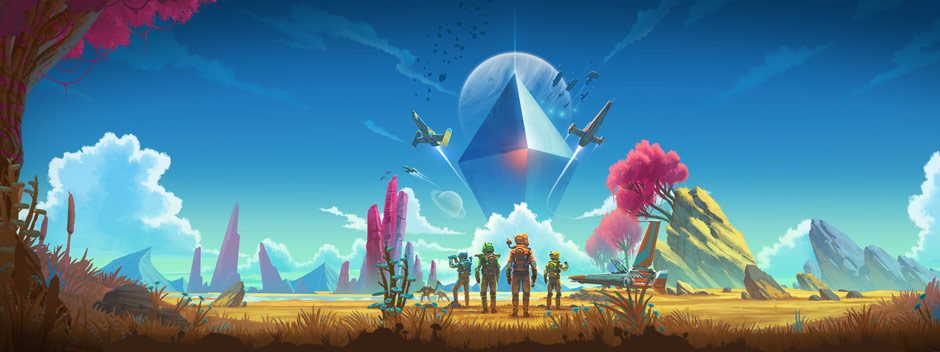 Svelato No Man's Sky: Beyond