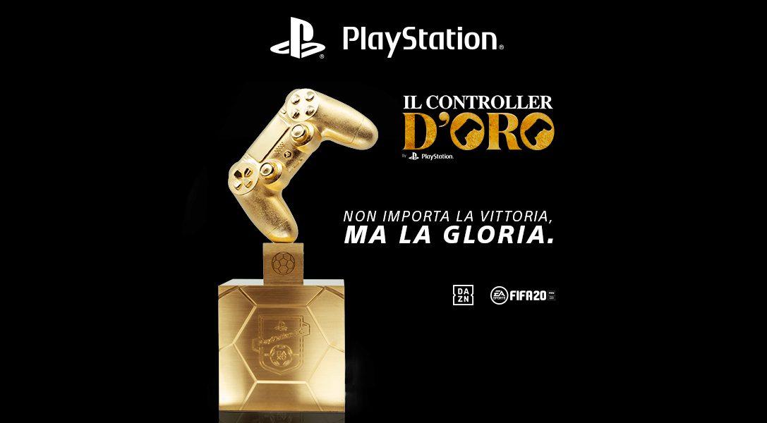"""Fischio di inizio per il concorso """"CONTROLLER D'ORO"""" per PS4"""