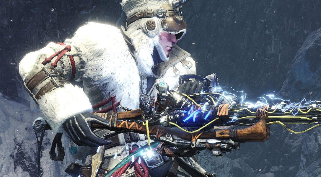 Nuovo equipaggiamento di Horizon Zero Dawn: The Frozen Wilds in Monster Hunter World: Iceborne