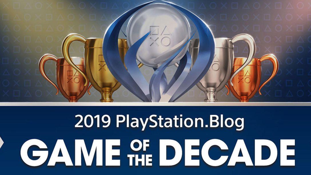 Gioco del Decennio di PlayStation.Blog: i vincitori