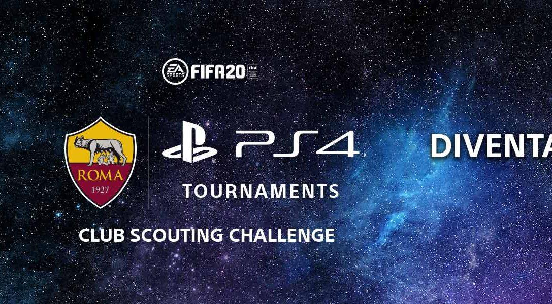 Iscritivi al nuovo torneo di FIFA 20 Club Scouting Challenge