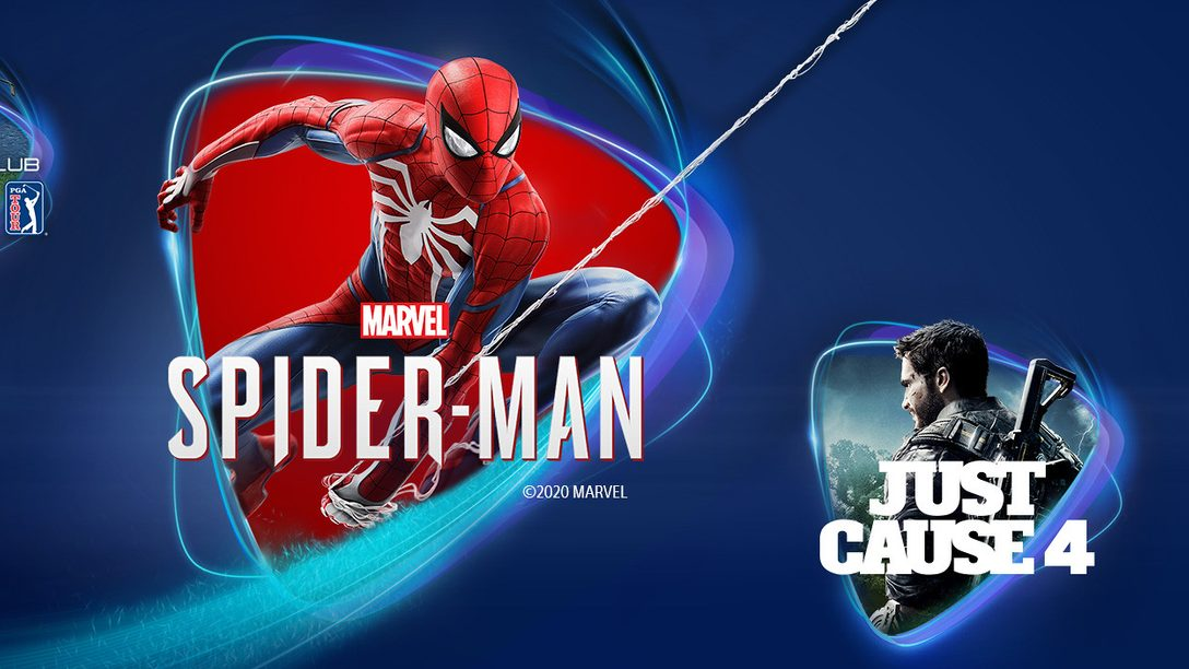 Marvel's Spider-Man, Just Cause 4 e The Golf Club 2019 arrivano su PS Now ad aprile
