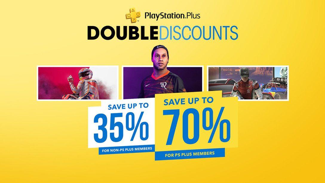 La promozione Doppi sconti di PlayStation Store inizia oggi