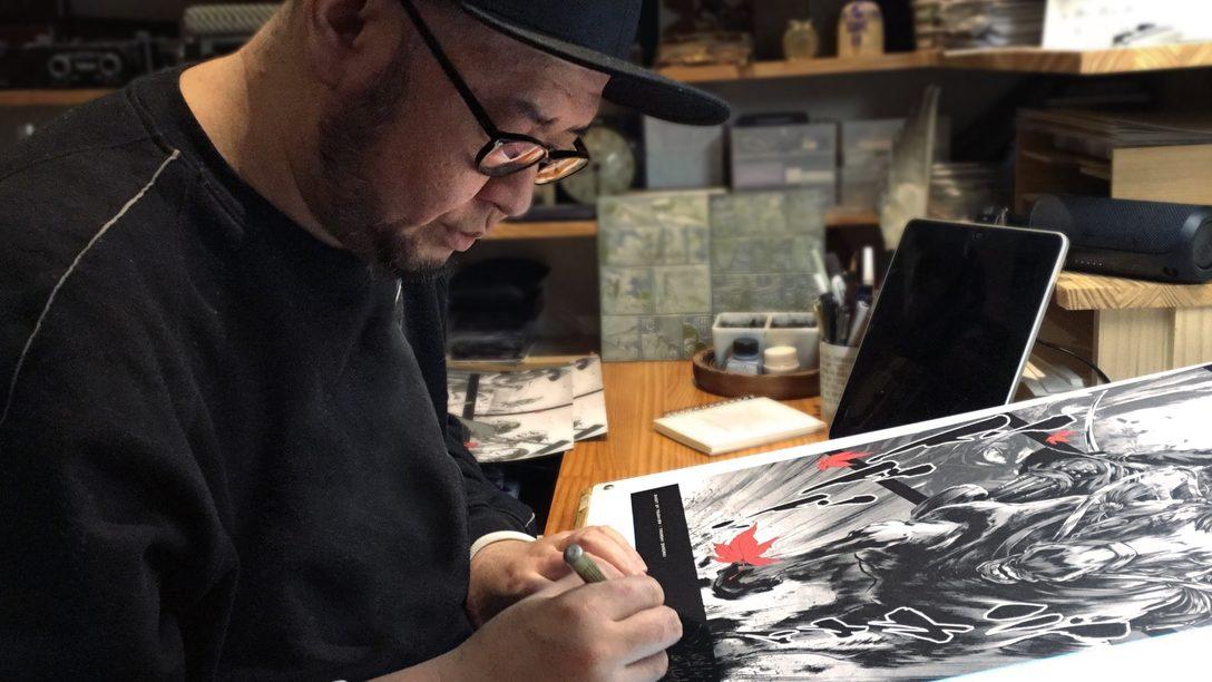 Presentazione della serie di poster speciali di Ghost of Tsushima