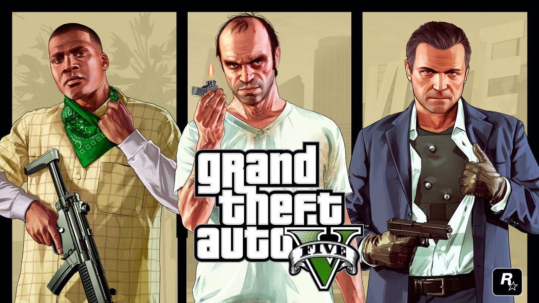 Grand Theft Auto V in arrivo per PlayStation 5 nel 2021