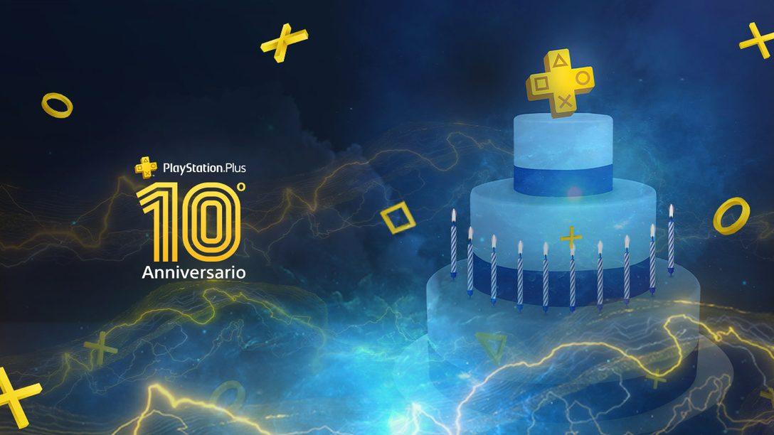 Festeggiamo insieme 10 anni di PlayStation Plus
