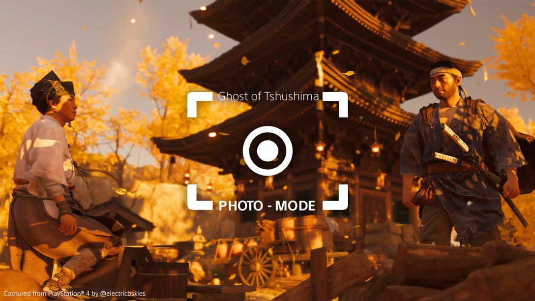 I primi scatti realizzati dalla Community provenienti dalla straordinaria modalità foto di Ghost of Tsushima