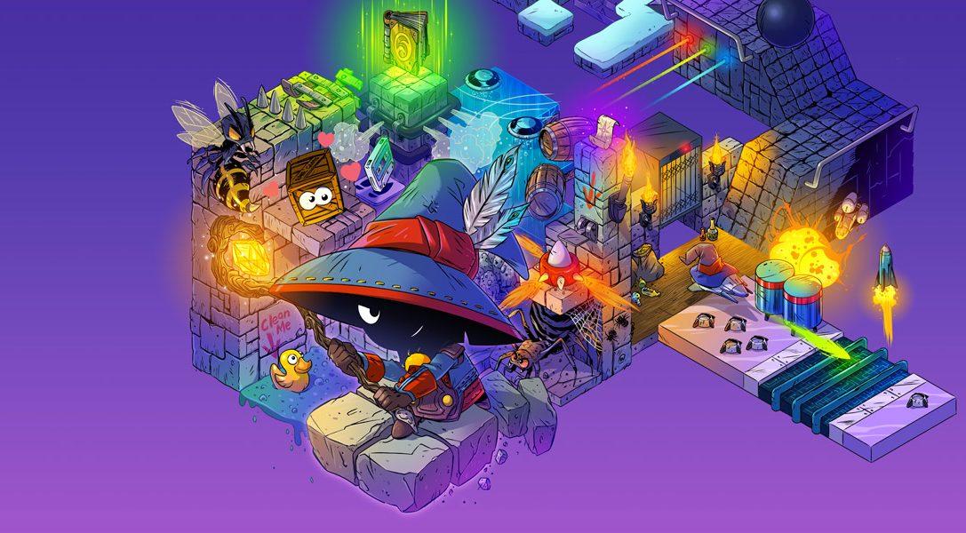 Das isometrische Arcade Adventure Lumo erscheint nächsten Monat auf PS4 & PS Vita