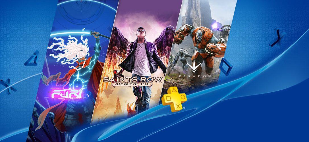 PlayStation Plus im Juli: Saints Row: Gat Out Of Hell und Furi für PS4-Spieler
