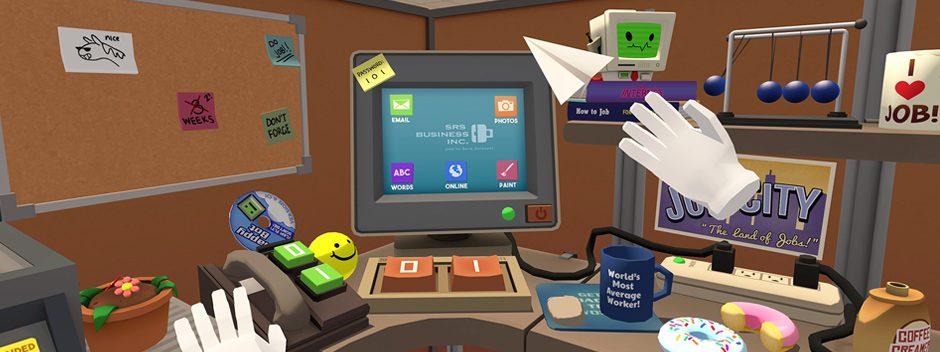 Freut euch auf den besten Arbeitstag aller Zeiten mit dem Job Simulator für PlayStation VR